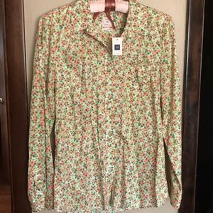 NEW with Tags gap floral shirt. 💐